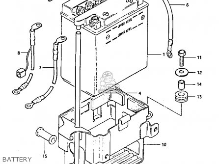 Suzuki Gs1100 1983 (gkd) parts list partsmanual partsfiche