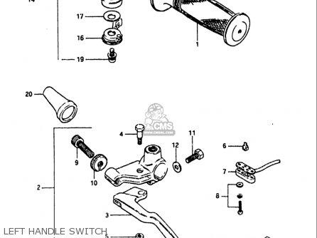 Suzuki GS1100 1984 (E) USA (E03) parts lists and schematics