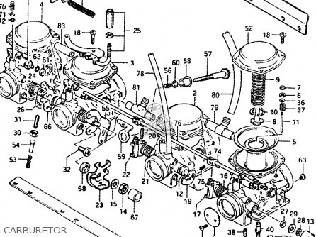 Suzuki Gs1100 1986 (gg) parts list partsmanual partsfiche