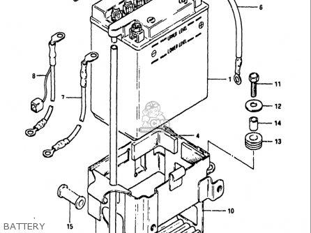 Wiring Harness Diagram For A Suzuki Gs750 Suzuki Intruder