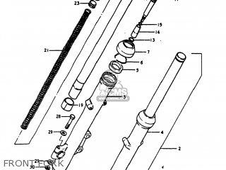 Suzuki Gs1100e 1980 (t) Usa (e03) parts list partsmanual