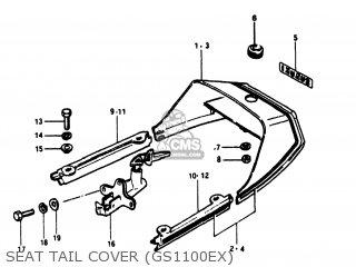 Suzuki Gs1100e 1981 (x) Usa (e03) parts list partsmanual