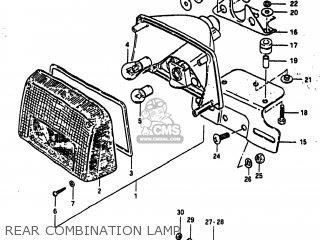 Suzuki GS1100E 1982 (Z) USA (E03) parts lists and schematics