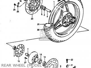 Suzuki GS1100E 1983 (D) USA (E03) parts lists and schematics
