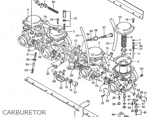 Suzuki Gs1100g 1982 (z) Usa (e03) parts list partsmanual