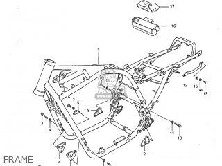 Suzuki GS1100G 1982 (Z) USA (E03) parts lists and schematics
