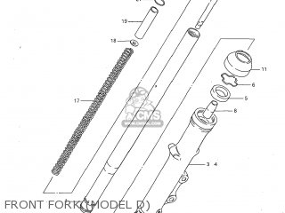 Suzuki Gs1100g 1982 (z) Usa (e03) parts list partsmanual