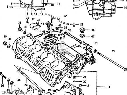 Suzuki GS1100G 1984 (E) GENERAL EXPORT (E01) parts lists