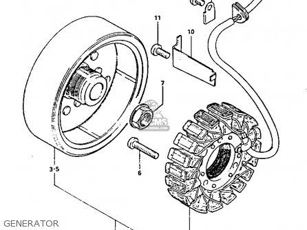 Suzuki GS1100GK 1982 (Z) GENERAL EXPORT (E01) parts lists