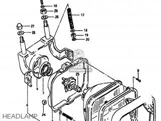 Suzuki Gs1100gk 1982 (z) Usa (e03) parts list partsmanual