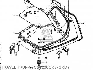 Suzuki Gs1100gk 1982 (z) Usa (e03) parts list partsmanual