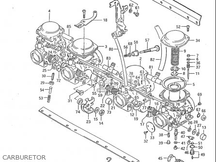Suzuki GS1100S 1983 (D) USA (E03) parts lists and schematics