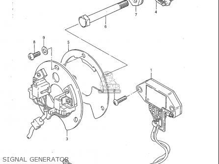 Suzuki GS1100S 1983 (D) USA (E03) parts lists and schematics