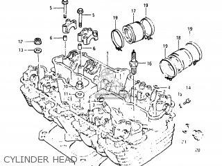 Suzuki Gs1150 1984 (e) Usa (e03) parts list partsmanual