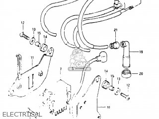 Suzuki Gs1150 1984 (e) Usa (e03) parts list partsmanual