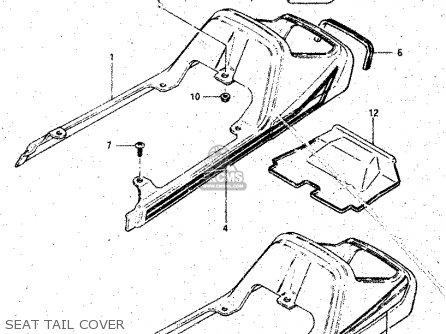 Suzuki Gs125 1982 (z) parts list partsmanual partsfiche
