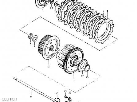 Suzuki Gs250 T 1980-1981 (usa) parts list partsmanual