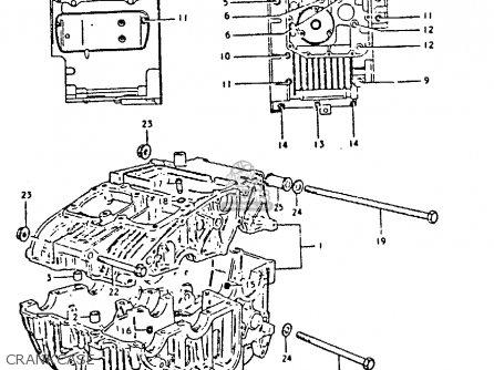 Suzuki GS250T 1980 (T) UNITED KINGDOM (E02) parts lists