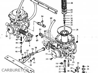Suzuki GS250T 1980 (T) USA (E03) parts lists and schematics
