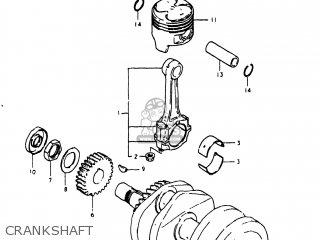 Suzuki GS250T 1980 (T) USA (E03) parts lists and schematics