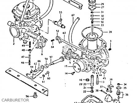 Suzuki GS250T 1981 (X) UNITED KINGDOM (E02) parts lists
