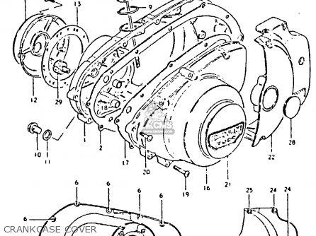 Suzuki GS250T 1981 (X) UNITED KINGDOM (E02) parts lists