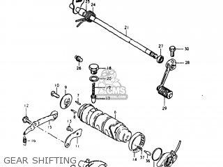Suzuki Gs250t 1981 (x) Usa (e03) parts list partsmanual