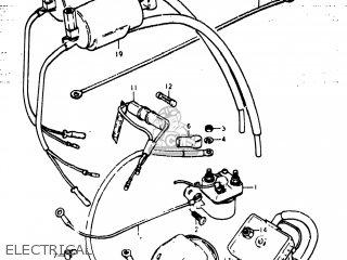 Suzuki GS400 1977 (B) USA (E03) parts lists and schematics