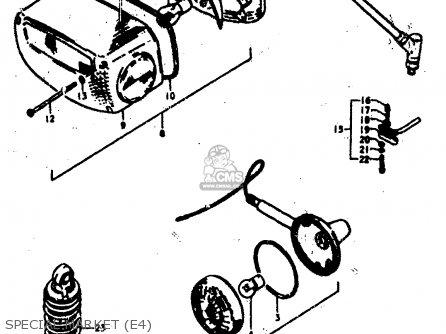 Suzuki Gs400 1978 (c) (e01 E02 E04 E17 E18 E21 E22 E24 E25