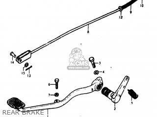 Suzuki Gs400 1978 (c) Usa (e03) parts list partsmanual