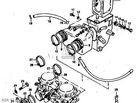 Suzuki Gs400 1978 (ec) parts list partsmanual partsfiche