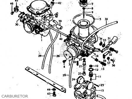 Suzuki Gs400 1979 (n) parts list partsmanual partsfiche