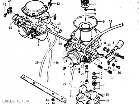Suzuki Gs400 ,-x 1977 (usa) parts list partsmanual partsfiche