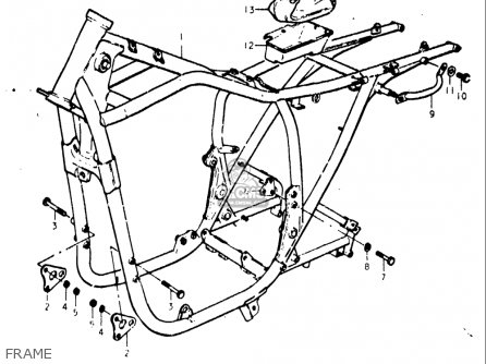 Suzuki Gs400 ,-x 1977 (usa) parts list partsmanual partsfiche