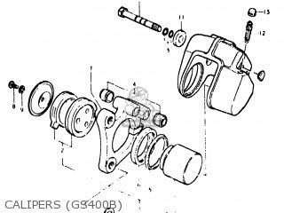 Suzuki Gs400x 1977 (b) Usa (e03) parts list partsmanual