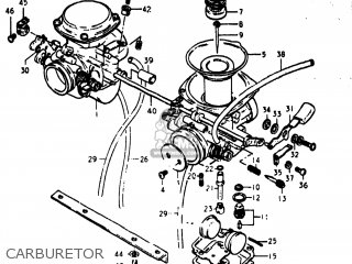 Suzuki Gs400x 1977 (b) Usa (e03) parts list partsmanual