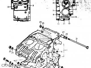 Suzuki GS400X 1977 (B) USA (E03) parts lists and schematics