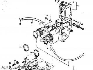 Suzuki Gs400x 1978 (c) Usa (e03) parts list partsmanual