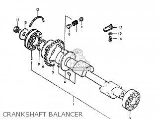 Suzuki GS400X 1978 (C) USA (E03) parts lists and schematics