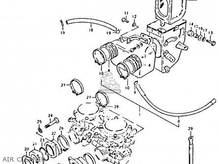 Suzuki Gs425 1979 (n) General Export (e01) parts list