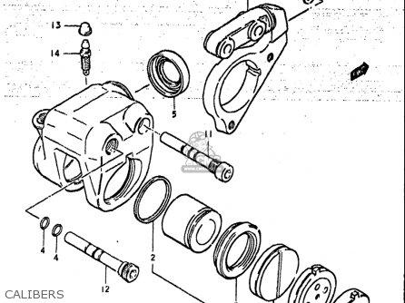Suzuki Gs425 L 1979 (usa) parts list partsmanual partsfiche