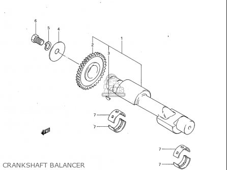 Suzuki Gs450 Ga 1982-1983 (usa) parts list partsmanual