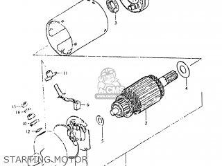 Suzuki GS450ET 1980 (T) USA (E03) parts lists and schematics