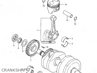 Suzuki GS450GA 1982 (Z) USA (E03) parts lists and schematics
