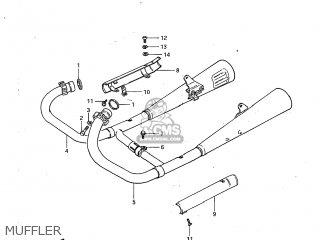 Suzuki GS450GA 1982 (Z) USA (E03) parts lists and schematics