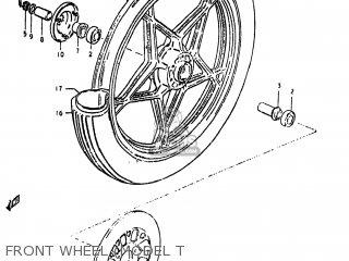 Suzuki GS450L 1980 (T) USA (E03) parts lists and schematics