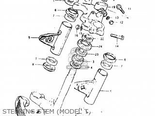 Suzuki Gs450l 1980 (t) Usa (e03) parts list partsmanual