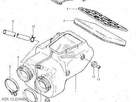 Suzuki GS450L 1981 (X) (E02 E15 E21 E22 E24 E25 E39) parts