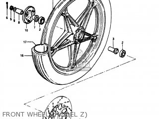 Suzuki GS450L 1981 (X) USA (E03) parts lists and schematics