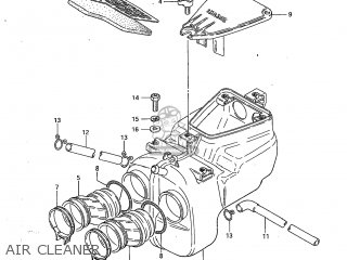 Suzuki Gs450l 1983 (d) Usa (e03) parts list partsmanual